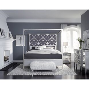 Adelina King Upholstered Canopy Headboard