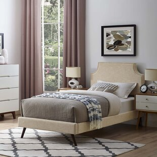 Buy clear Craighead Twin Upholstered Platform Bed by Wrought Studio