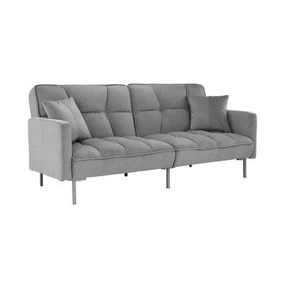 Pleasant Zipcode Design Eulalie Plush Modern Sleeper Wayfair Creativecarmelina Interior Chair Design Creativecarmelinacom