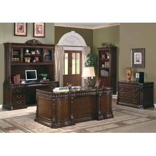 Rosier 4 Piece Desk Office Suite