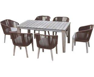 Abancourt Outdoor 7 Piece Dining Set 1 699 99 4