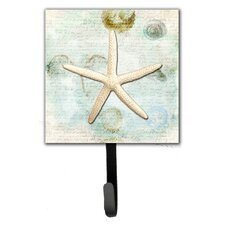 Starfish Leash Holder and Key Hook by Caroline's Treasures