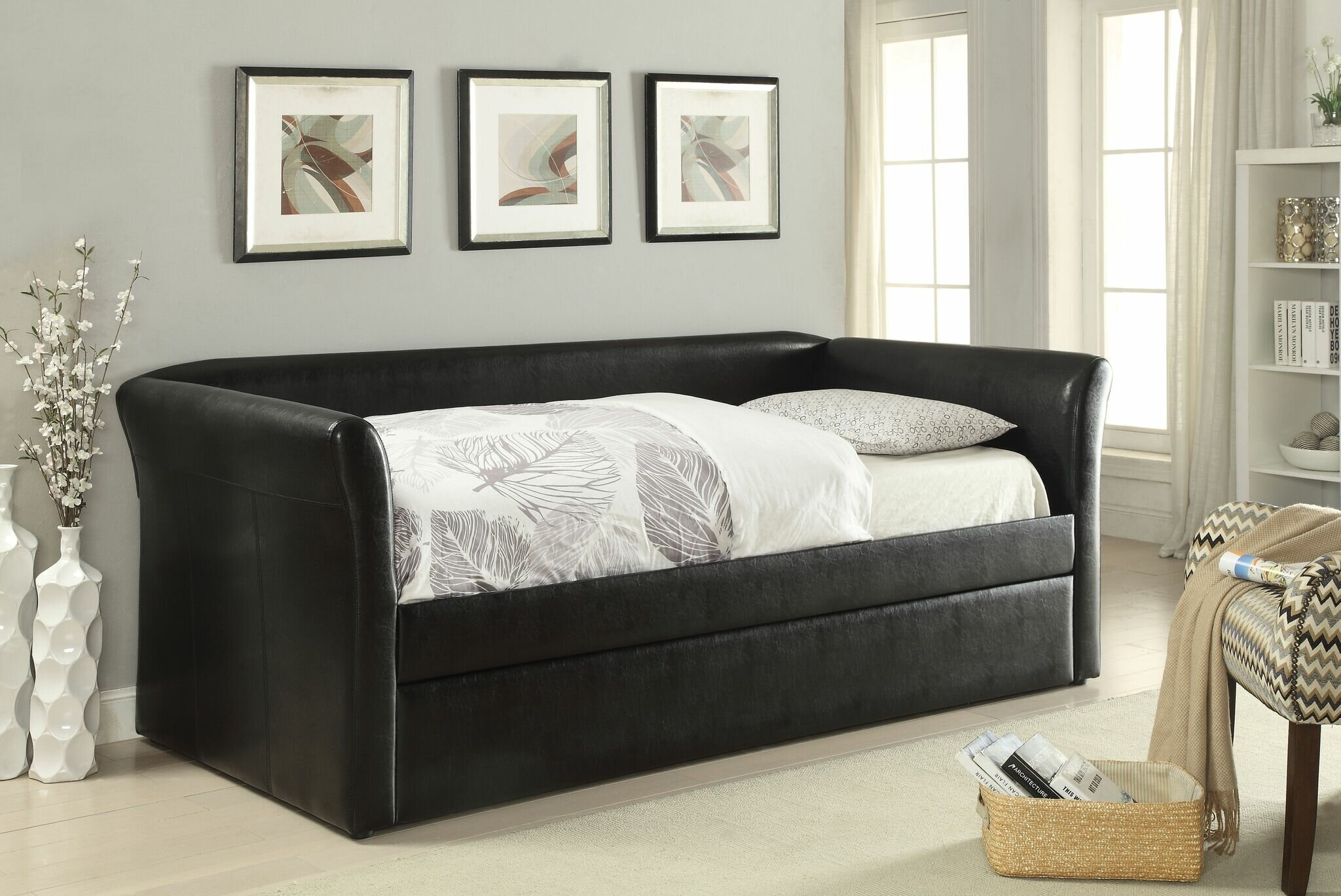 - Red Barrel Studio Deblois Twin Daybed With Trundle Wayfair