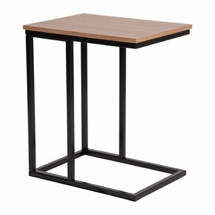 Lauretta Wood Grain Finish End Table