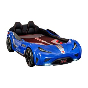 Cirillo Modern Coupe Twin Car Bed by Zoomie Kids