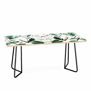 Tropical Paint Texture Coffee Table