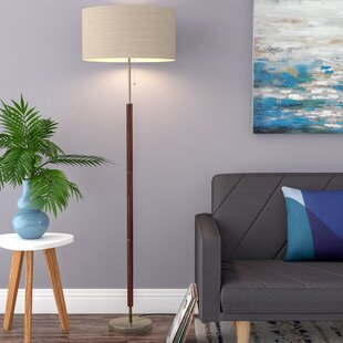 Wood Floor Lamps You\'ll Love in 2019 | Wayfair