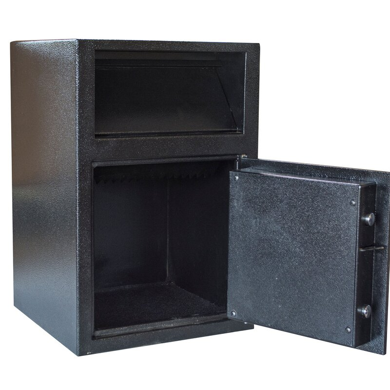 Offex Outdoor Drop Depository Safe With Electronic Lock Wayfair