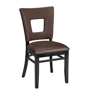 Beechwood Square Open Back Seat Upholstered Dining Chair