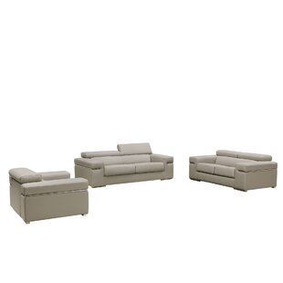 Low priced Cana 3 Piece Living Room Set by Orren Ellis Reviews (2019) & Buyer's Guide