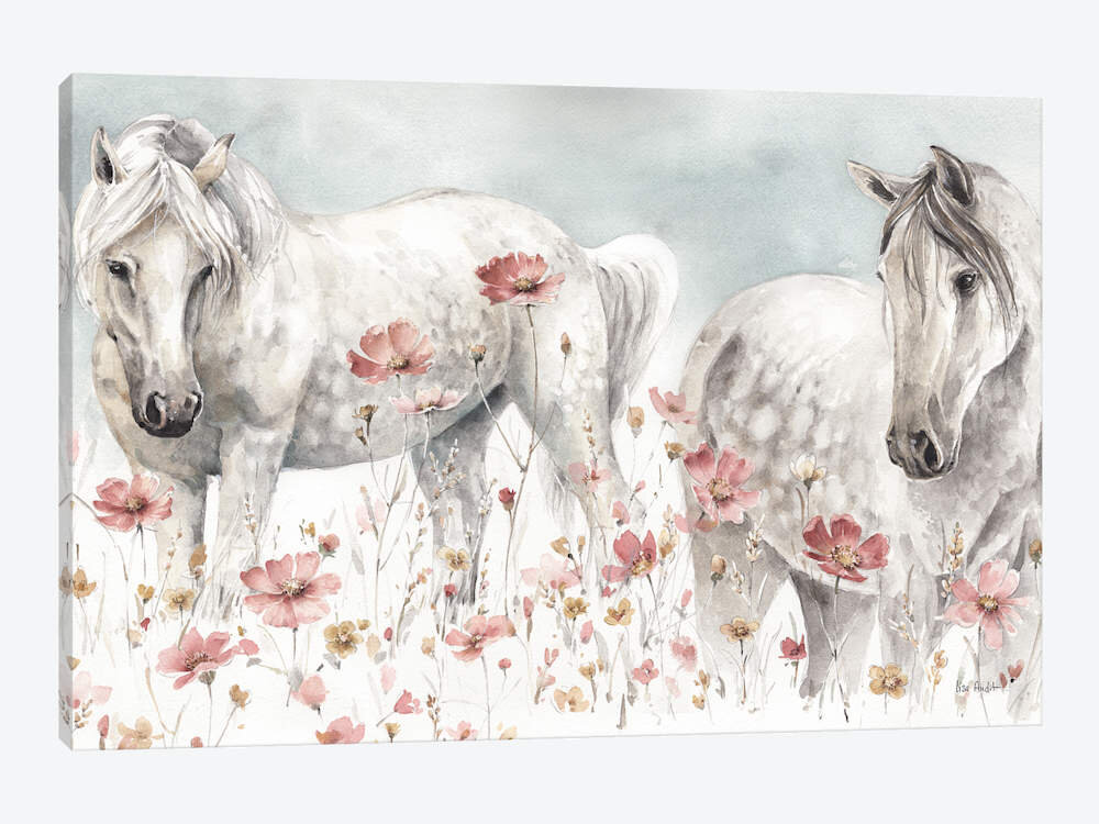 Horse Red Wall Art You Ll Love In 2021 Wayfair