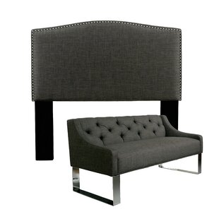 Great choice Almodovar Upholstered Panel Headboard and Sofa Bench by Darby Home Co