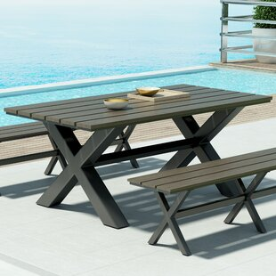 Plastic/Resin Dining Table by Brayden Stu..