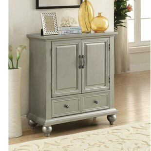 Wilkes Glamorous Metallic 2 Door Accent Cabinet by Ophelia & Co.