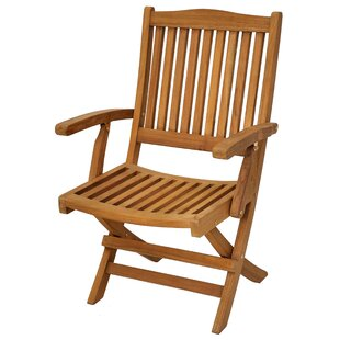 Casual Elements Trinidad Folding Teak Patio Dining Chair