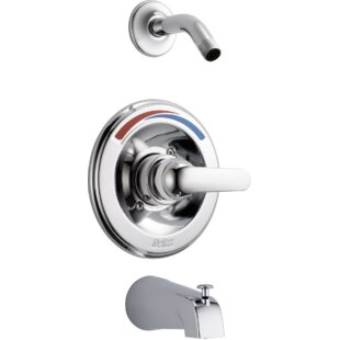 Delta Other Core Pressure Balance Tub and Shower Faucet Trim with Metal Lever Handle