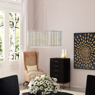 House of Hampton Anakin 4-Light Crystal Chandelier