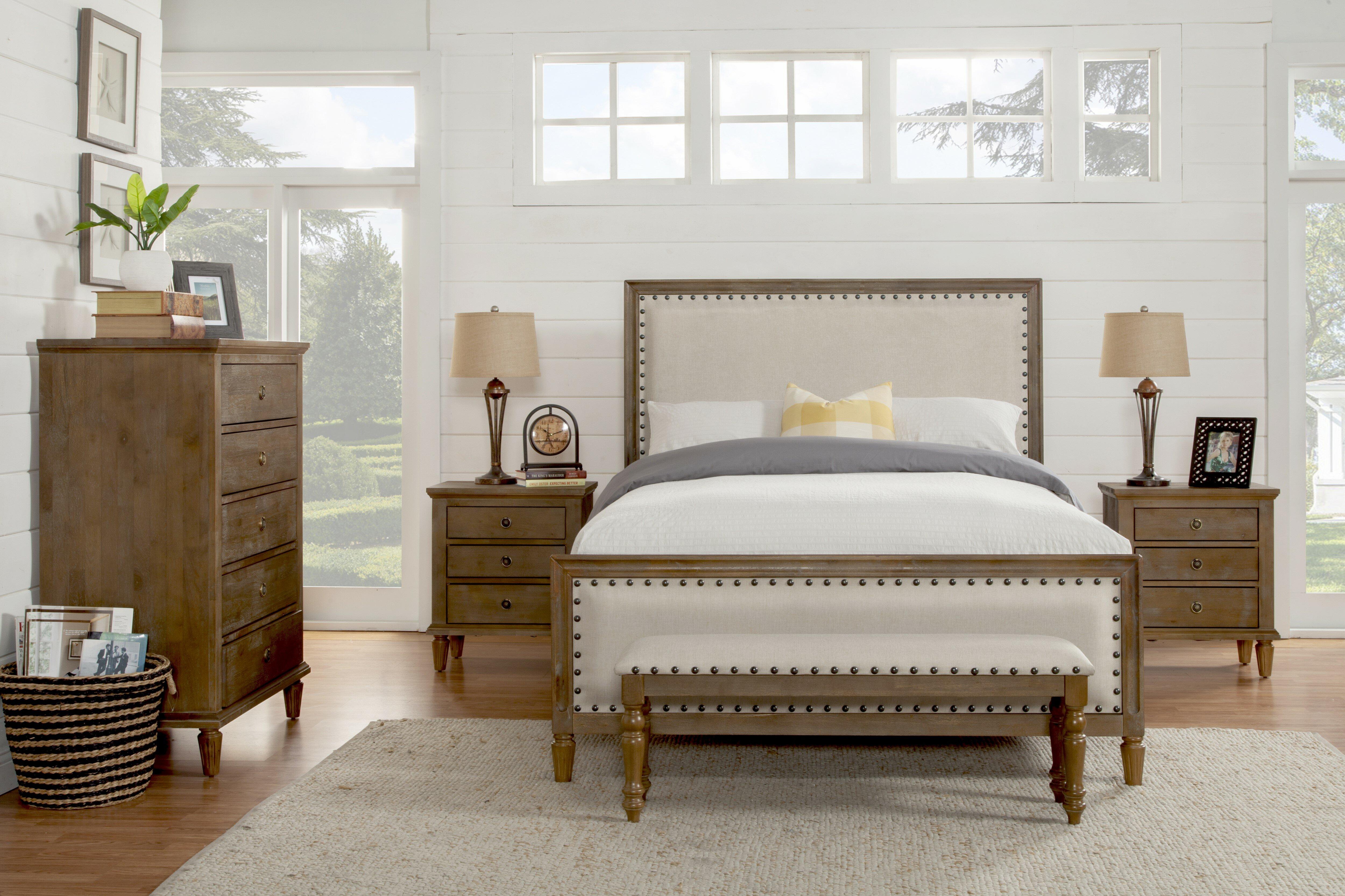 Shirke Standard 5 Piece Bedroom Set Joss Main