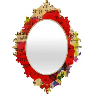 East Urban Home Poppy Poetry 2 Baroque Accent Mirror