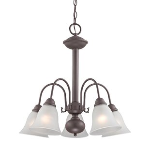 Allendale 5-Light Shaded Chandelier by Alcott Hill