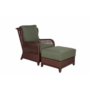 Aberdeen Lounge Chair and Ottoman with Cushion