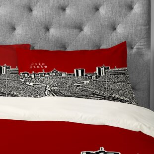 Bird Ave Ohio State Buckeyes Pillowcase