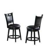 Florencio 24 Swivel Bar Stool (Set of 2) by Darby Home Co