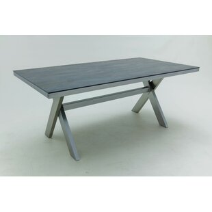 Dedmon Stainless Steel Bistro Table By Sol 72 Outdoor