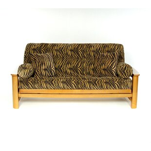 Tiger Box Cushion Futon Slipcover by Lifestyle Covers