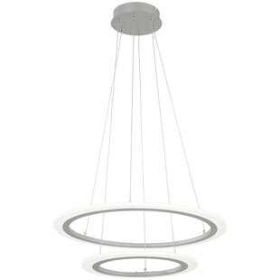 Discovery 2-Light Geometric Pendant by George Kovacs by Minka