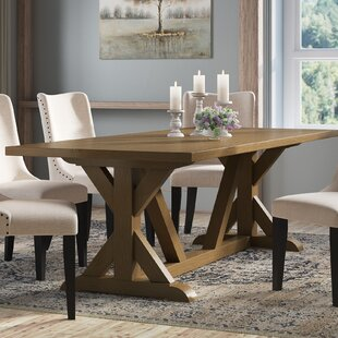 Sydney Solid Wood Dining Table by Laurel Foundry Modern Farmhouse Savings
