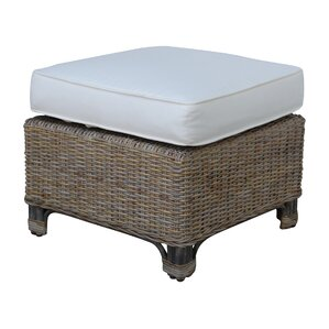 Exuma Ottoman with Cushion by Panama Jack Sunroom