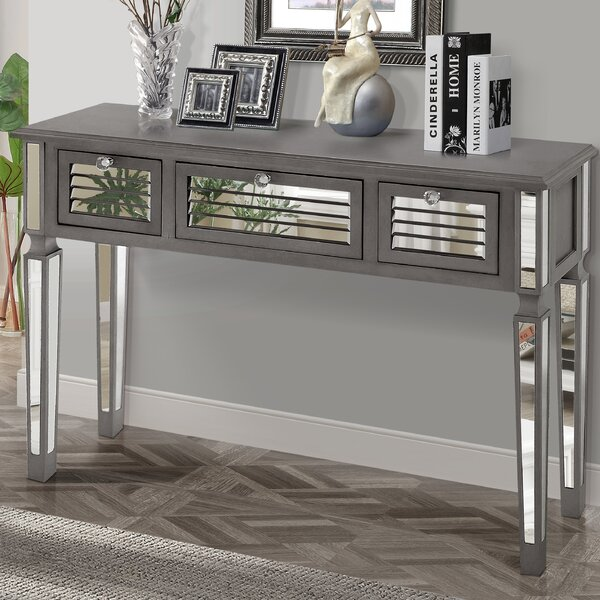 Superieur Gallerie Decor Summit Mirrored Console Table U0026 Reviews | Wayfair