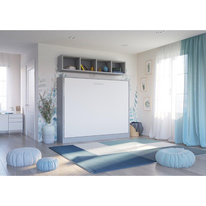 Murphy Bed.Gautreau Wall Configuration Full Murphy Bed