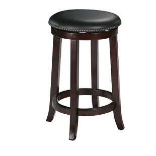 Cambridgeshire 29 Swivel Bar Stool (Set of 2) Charlton Home