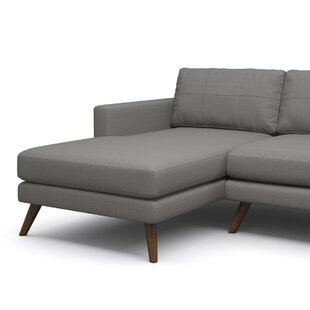 Shop Dane 90 Sofa with Chaise by TrueModern