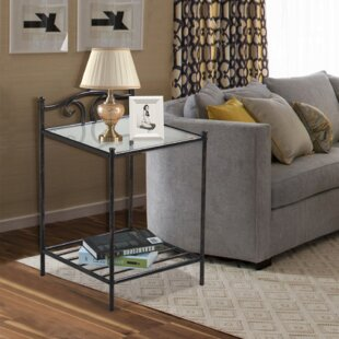 Rossford End Table by Fleur De Lis Living