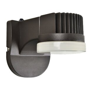 Newburg 1-Light Outdoor LED Sconce by Red..
