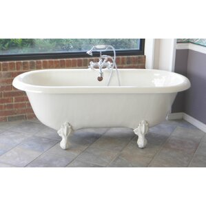 60 x 30 freestanding tub. Marquise 66  x 30 Freestanding Soaking Bathtub Clawfoot Tubs You ll Love Wayfair