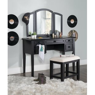 Darby Home Co Burhardt Vanity Set with Mirror