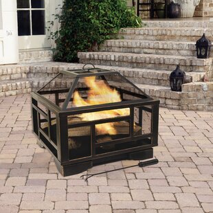 Pleasant Hearth Solus Deep Wood Burning F..