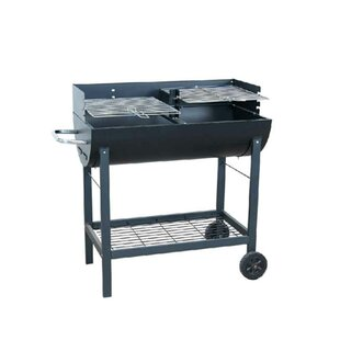 80cm Charcoal Barbecue With Fireplaces By Symple Stuff