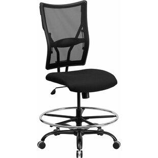Symple Stuff Krull Mesh Drafting Chair