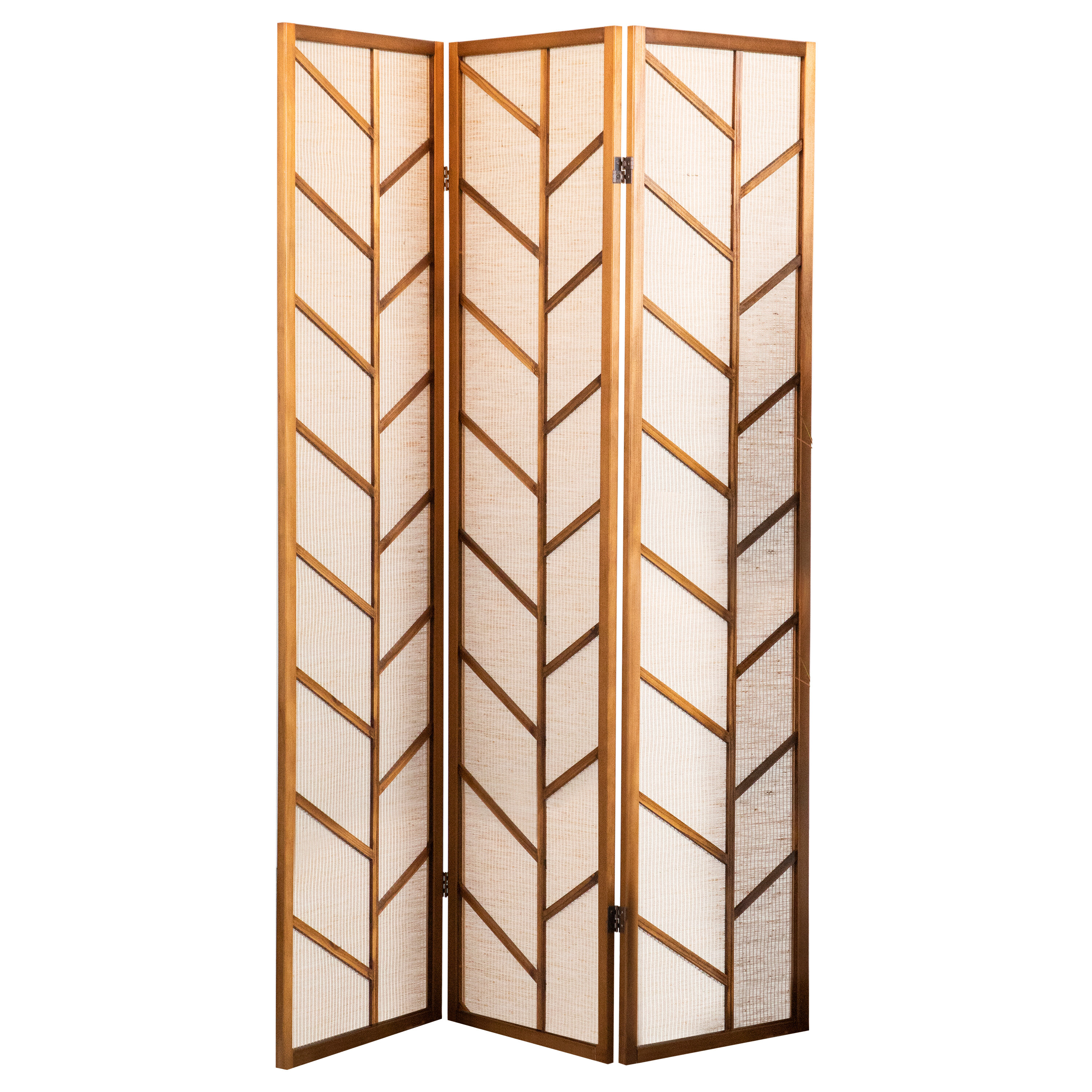 3 Panel Gracie Oaks Room Dividers You Ll Love In 2021 Wayfair