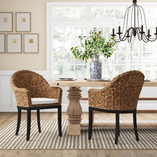 Monticello Polyester Blend Upholstered Arm Chair in Brown