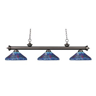 August Grove Earleville 3-Light Pool Table Lights Pendant