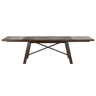Gracie Oaks Leigh Extendable Distressed D..