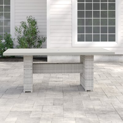 Waterbury Rectangular 30 Inch Table by Sol 72 Outdoor 2020 Online