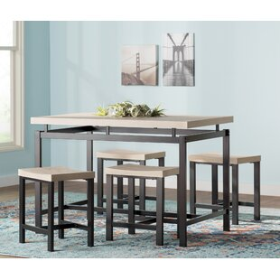 Wrought Studio Bryson 5 Piece Dining Set