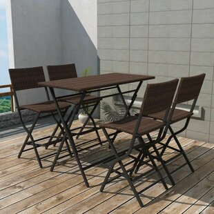 Anselmo 4 Seater Dining Set By Sol 72 Outdoor